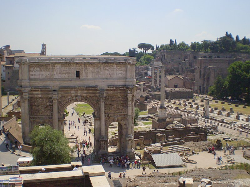 97 - ROMA - ruinas romanas - 21/05