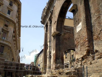 127 - ROMA - Porta di Ottavia - 23/05