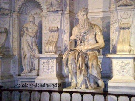 134 - ROMA - Moisés (Michelangelo)