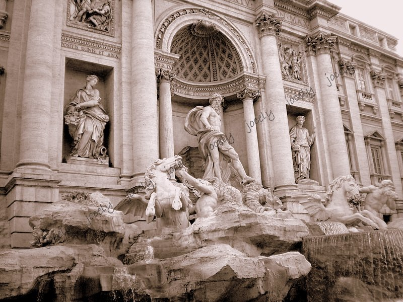 111 - ROMA - Fontana di Trevi