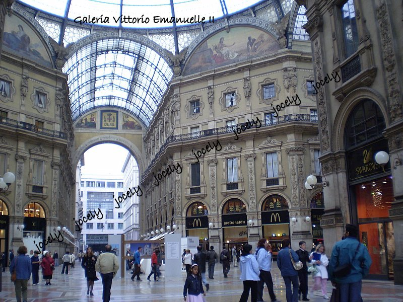 171 - MILÃO - Galeria Vittorio Emanuelle - 29/05