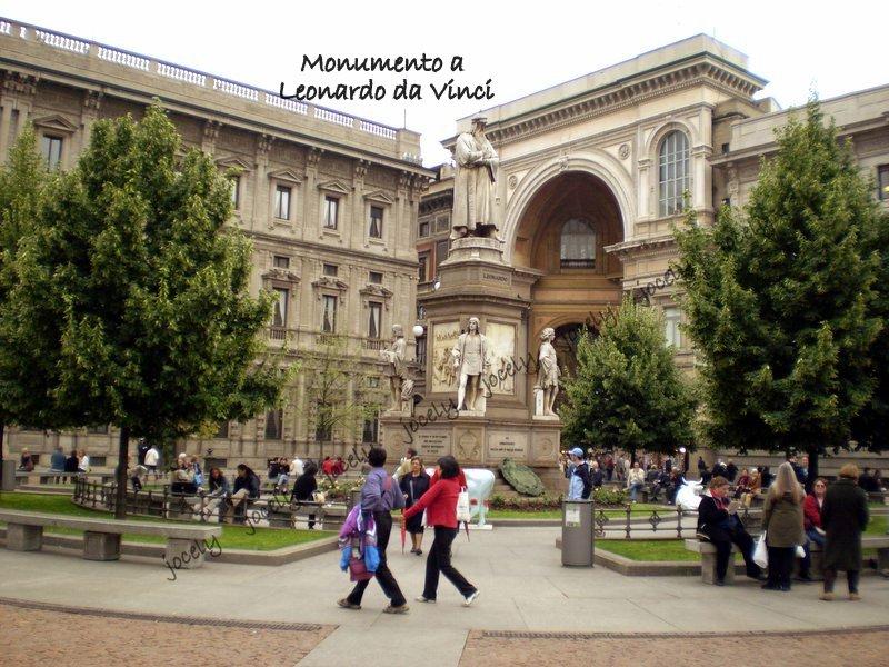 174 - MILÃO - Leonardo da Vinci - 29/05
