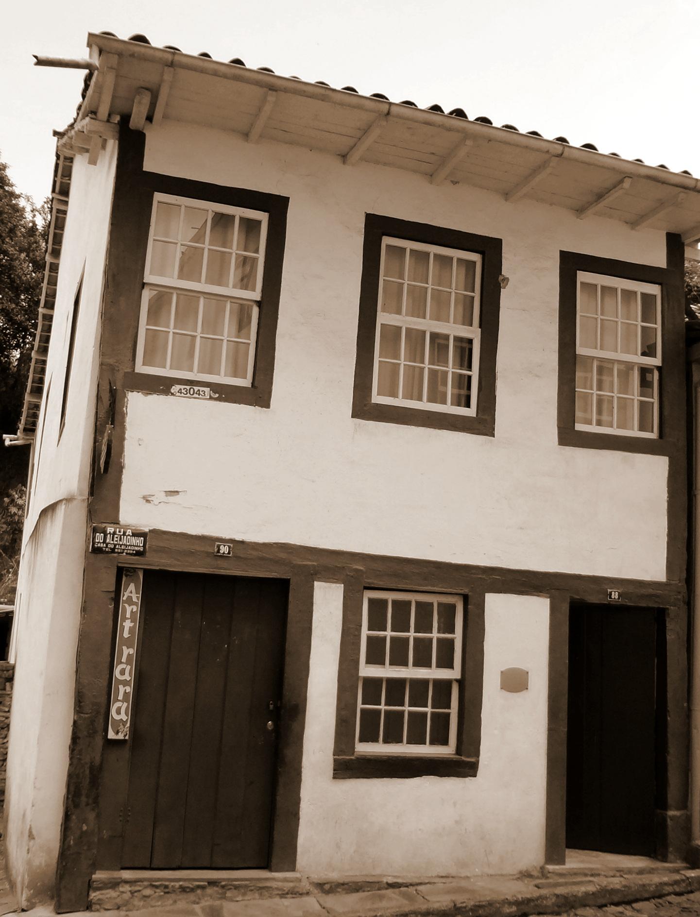 casa aleiljadinho, 2